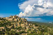 Provencal Village Of Gordes,  South Of France poster