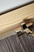 Stretching Canvas On Wooden Stretcher Bar, Canvas Pliers poster