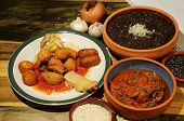 Постер, плакат: Кубинские блюда
