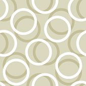 Vector Circle Seamless Pattern Background. Surface Pattern Design Perfect For Any Surface Like Wall- poster