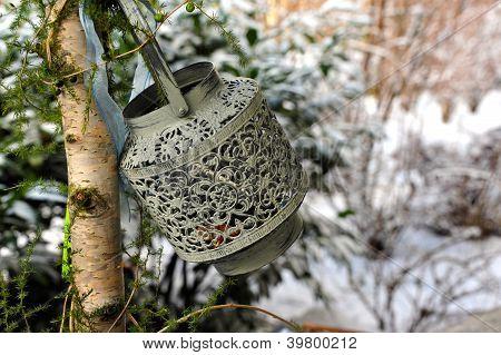 Oriental Lamp on tree