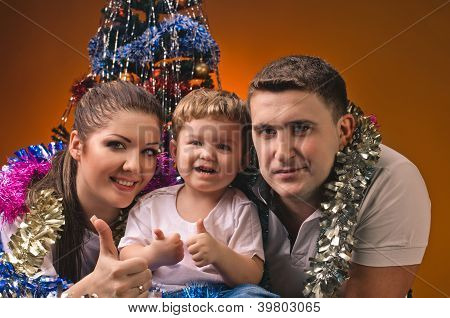 Porträt der Familie