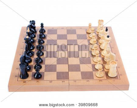 chess board isolated