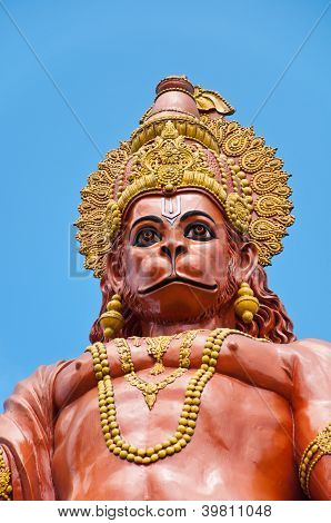 Hanuman Statue At Sikkim, India