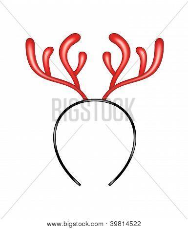 Reindeer caribou - headband