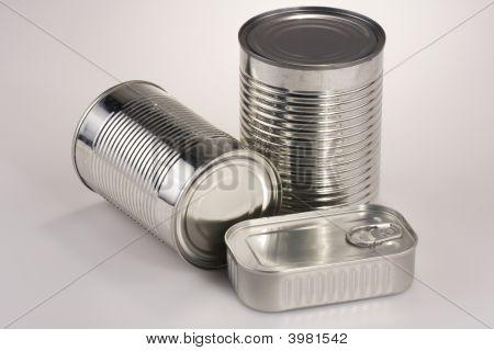 Assortment Of Tin Can