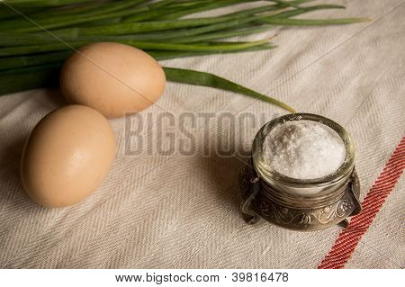 Eggs And Solt