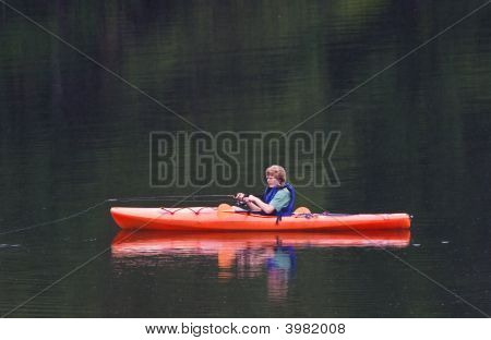 Fishing From Kayak