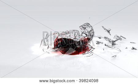 Vinho Smashing chão