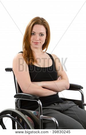 Confident Woman Wheelchair