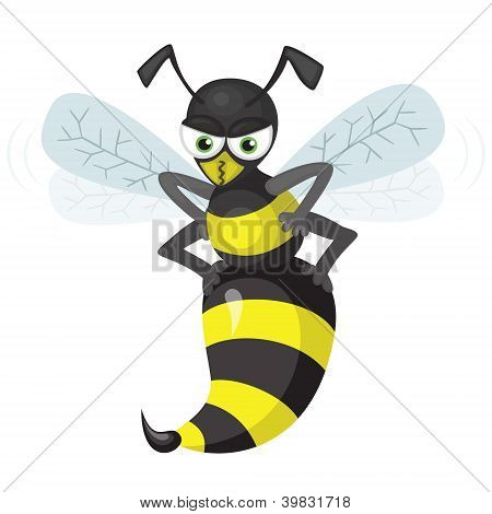 Flying_wasp