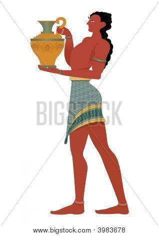 antiken griechischen Mann