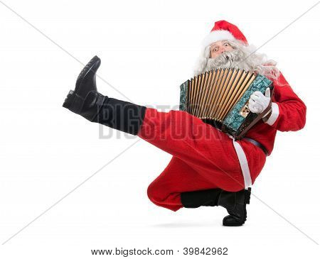 Dancing Santa Claus