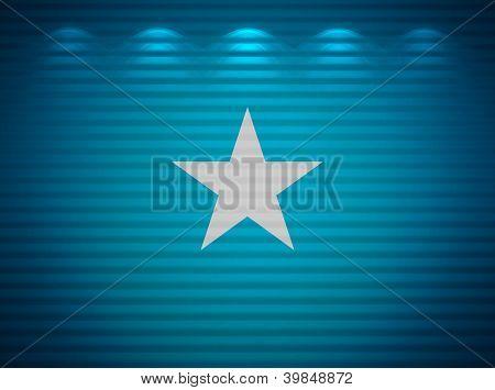 Somalian Flag Wall, Abstract Background