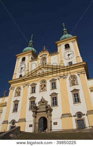 Basilica Of Our Lady Of Visitation (czech Republic)