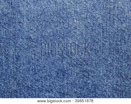 Old Denim Cloth Close-up