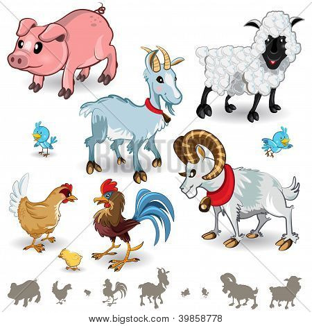 Farm Animals Collection Set 01