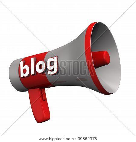 Blog megafone