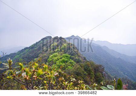 spring at high mountain of china