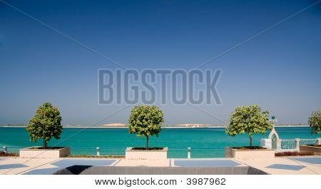 Promenade By Sea In Abu Dhabi