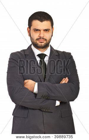 Furious Business Man