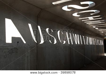 Auschwitz Wieliczka Memorial