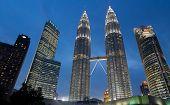 picture of petronas towers  - KUALA LUMPUR  - JPG