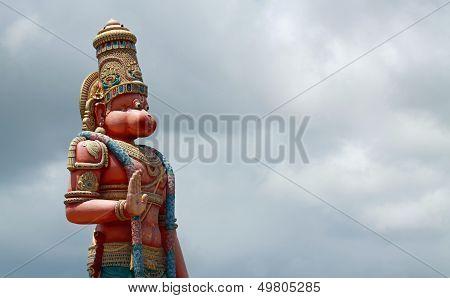 Statue of the hinduism god Hanuman (Trinidad)