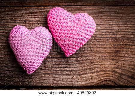 Crochet Lovely Hearts