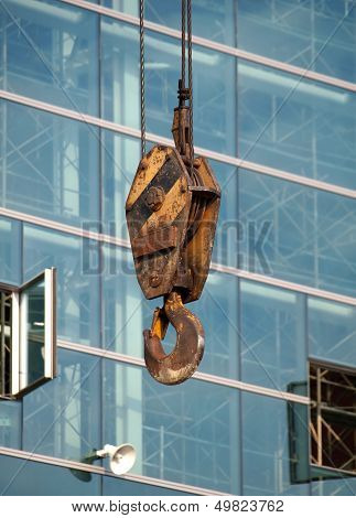 Large Crane Hook