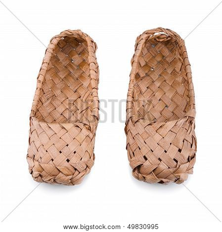 Russian Bast Shoes
