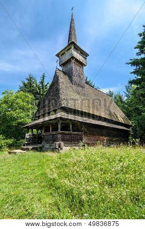 Maramures, landmark - wooden church