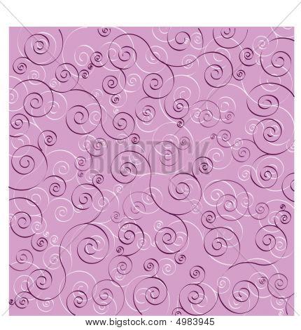 Purple Background Swirls