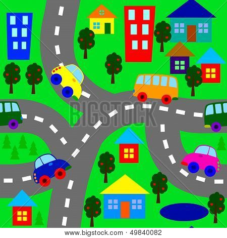 Background With Cars.eps