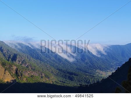 Sea Of Clouds On La Palma