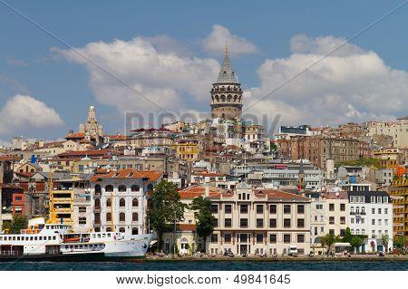 Karakoy And Galata Tower