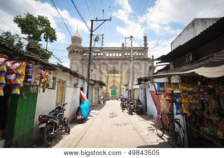 Mecca Masjid and Laad Bazaar