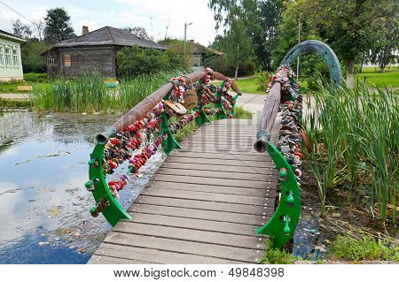 Bridge Of Lovers And Luck Horseshoe