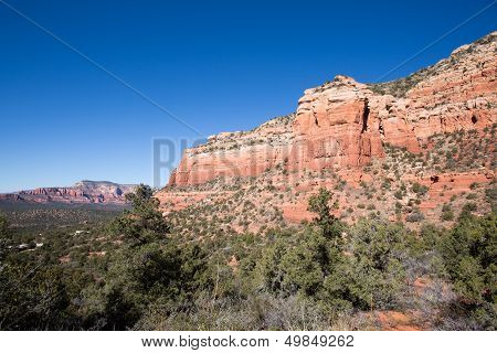 Red Rock Formations in Sedona, Arizona