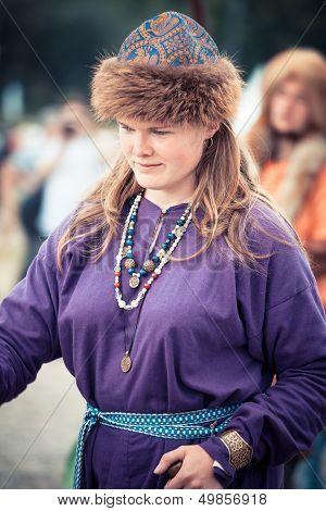 Medieval Slavic Woman