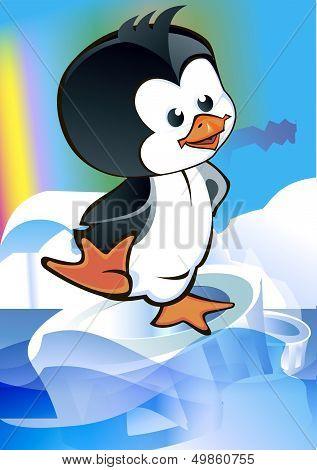 Kid - Penguin On Ice Floe