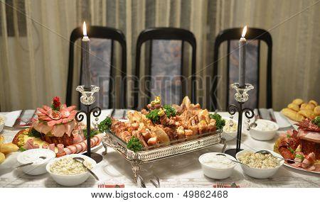 gourmet dinner