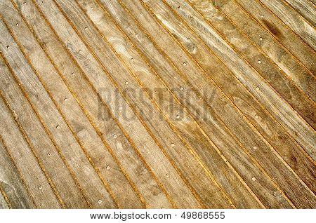 Wooden Boardwalk Background