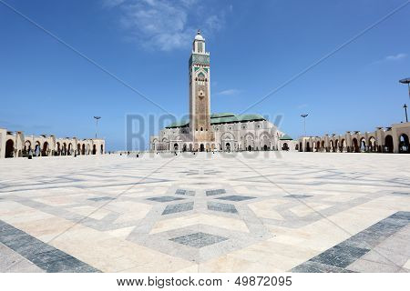 Great Mosque of Hassan II in Casablanca, Morocco