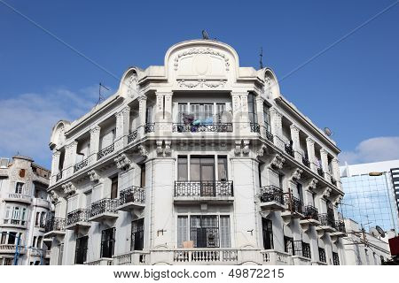 Art Deco Architecture In Casablanca