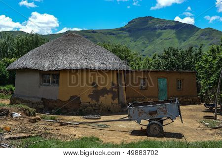 Traditional House In Lesotho