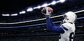 picture of football  - American Football Touchdown Catch - JPG
