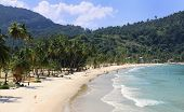 stock photo of maracas  - Beach of the Maracas Bay  - JPG