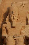 Постер, плакат: Большой храм Абу Симбел