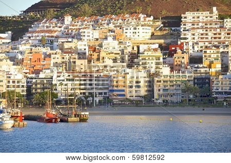Los Cristianos on Tenerife